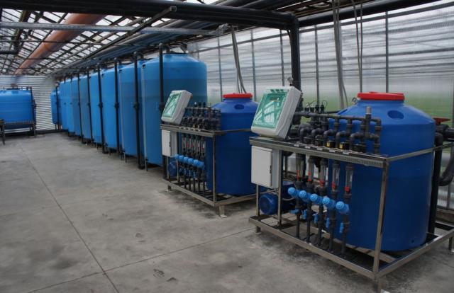 Установка оборудования для капельного полива