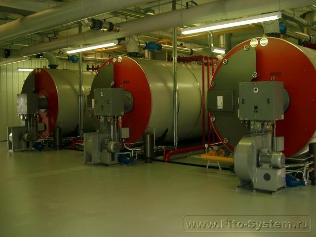 Оборудование для котельной в промышленных теплицах