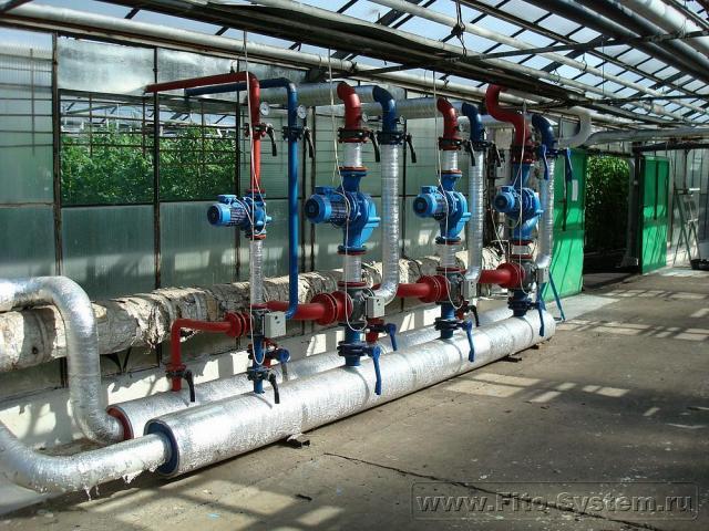 Реконструкция тепличных комбинатов и строительство новых тепличных комплексов