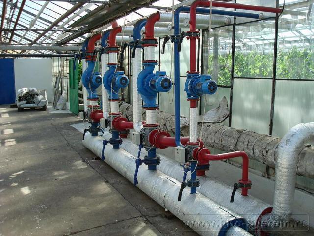 Проектирование систем отопления для промышленных теплиц