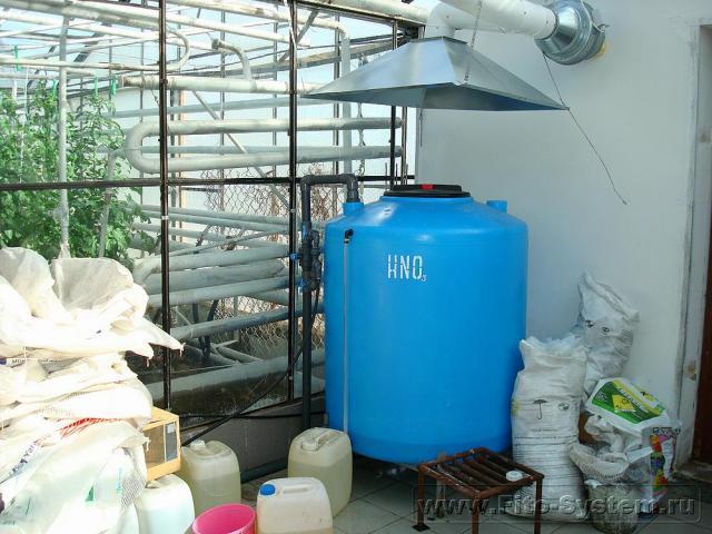 Системы полива для теплиц