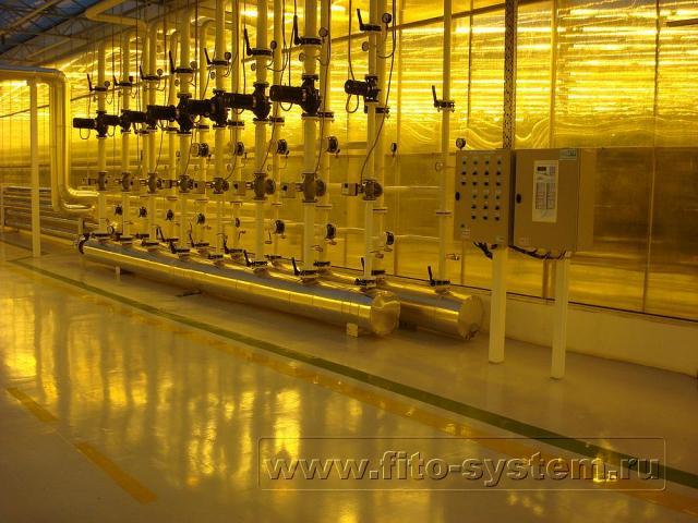 Система отопления для современной теплицы